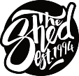#getintheshed Logo